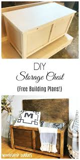 Free Plans To Build A Toy Box by How To Build A Simple Diy Storage Chest