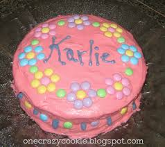 one crazy cookie extreme pink and a frugal cake decorating idea
