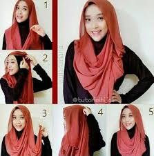 tutorial hijab pashmina untuk anak sekolah 187 best hijab terbaru fashion dan aksesoris images on pinterest