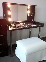 Portable Vanity Table Modern Hideaway Dressing Table Ikea Hackers