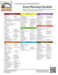 preparation of event plan for wedding best 25 event planning checklist ideas on event