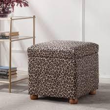 linen storage cube ottoman wayfair