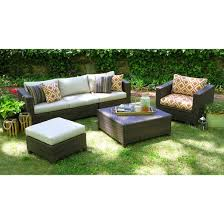 Biscayne Piece Wicker Sectional Seating Patio Furniture Set  Target - Outdoor furniture set