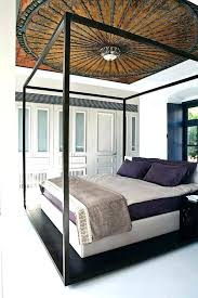 Modern Canopy Bed Frame Modern Canopy Beds Lapservis Info