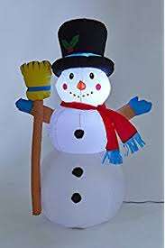 Light Up Snowman Outdoor 4ft Inflatable Santa Light Up 3 Led Indoor Outdoor Uk Plug