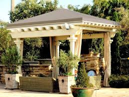 pergola roof traditional patio los angeles by superior