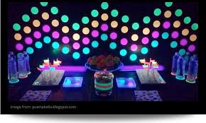 glow in the decorations sleepover party ideas slumber party ideas at birthday in a box