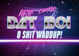 Meme Text Generator - new retro wave dat boi retrowave text generator know your meme