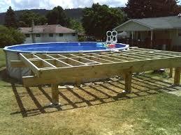 Wrap Around Deck Designs Deck Around Oval Above Ground Pool Wrap Around Oval Pool Deck Deck