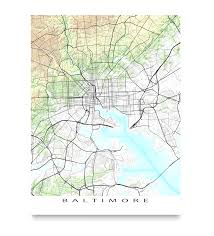 map of maryland to print baltimore map print maryland landscape maps as and of to