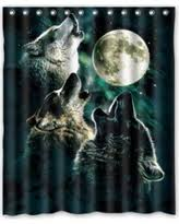 Wolf Curtains Last Minute Deals On Mohome Shower Curtains