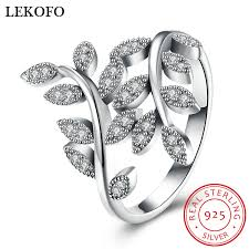 sted rings aliexpress buy lekofo fashion 100 925 sterling silver ring