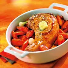 cuisiner une cote de veau côte de veau aux carottes confites magazine avantages