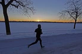 why i love running outside in the winter startribune com