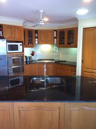 granite countertop how to make kitchen cabinets stainless