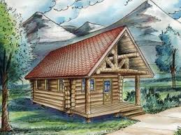 two cabin plans two house plans the house plan shop