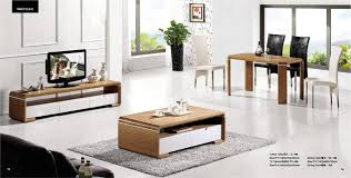 Set Of Tables For Living Room Living Room Coffee Table Tv Cabinet And Dinning Set 3