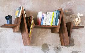 unusual shelving unique shelf with shape inspired by heartbeat beat shelf home