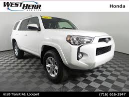 toyota suv cars used 2017 toyota 4runner for sale at west herr honda in lockport