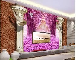 Flower Wallpaper Home Decor Online Get Cheap Flower Wall Mural Wallpaper Aliexpress Com