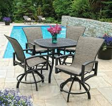 Patio Furniture Bar Sets Patio Furniture Bar Height Dining Set Best Ideas On Outdoor