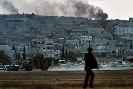 the battle with isis over kobani spills into turkey time com