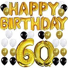 60 years birthday kungyo 60th birthday party decorations kit happy