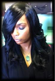 no part weave hairstyles natural looking sew in tape in braidless fusion micro beads