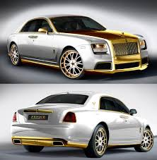 bugatti gold and white fenice rolls royce ghost u0027diva u0027 24k gold autos muscle cars