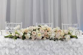 wedding flowers toronto blush and table arrangement oakville wedding