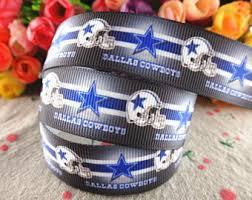 dallas cowboy ribbon dallas cowboys ribbon etsy