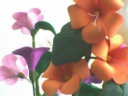 flores de foamy flores en foamy manualidades
