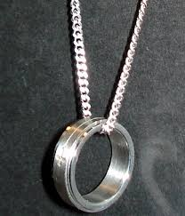 ring necklace men images Silver ring pendant necklace men 039 s fashion for less ring on jpg