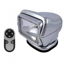 go light magnetic base golight stryker searchlight w handheld wireless remote magnetic