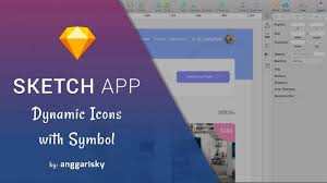 sketch app tips dynamic icons symbol youtube