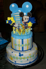 mickey mouse first birthday cake mickeys first birthday lucas