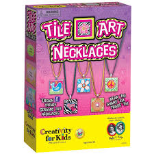amazon com creativity for kids tile art necklaces toys u0026 games