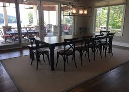 custom dining room sets custom dining room table with bench urban edge woodworks