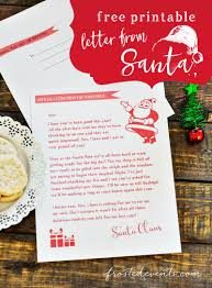 dear santa letter template free letter from santa free printable