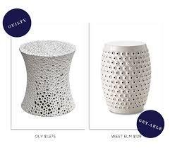 Ceramic Side Table Ceramic Side Table Bonners Furniture