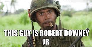 Retard Meme Generator - this guy is robert downey jr nigga you just went full retard