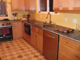 light maple kitchen cabinets kitchen floor tile ideas with oak cabinets small 9 on kitchen