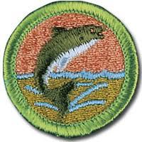 fishing merit badge merit badges pinterest merit badge and