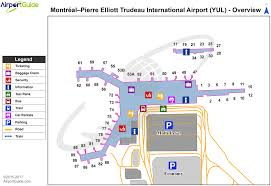 Airport Terminal Floor Plans by Montreal Montreal Pierre Elliott Trudeau International Yul