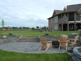 patio and rock walls lakeside cottages and country homes by