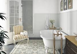 charming patterned bathroom floor tiles u2014 cabinet hardware room