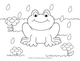 spring coloring sheet spring colouring pages kids templates