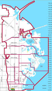 Florida District Map by Districts