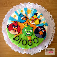 angry bird birthday cake cake by ana costa cakesdecor