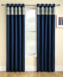 Fashionable And Stylish Navy Curtains Drapery Room Ideas - Room darkening curtains for kids